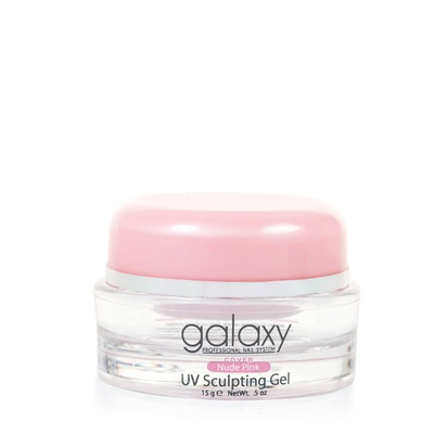UV Sculpting Gel GALAXY Cover Nude Pink 15g