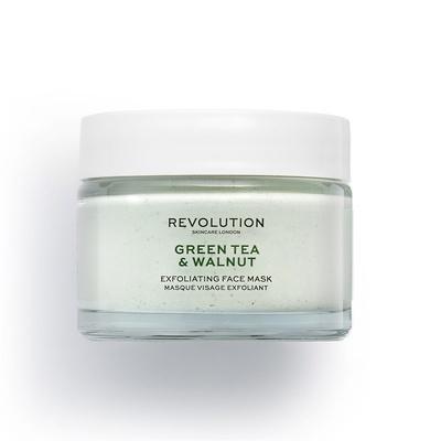 Piling maska za lice REVOLUTION SKINCARE Zeleni čaj i orah 50ml