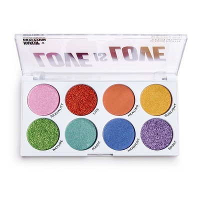 Paleta senki i pigmenata MAKEUP OBSESSION X Pride Love is Love 16g
