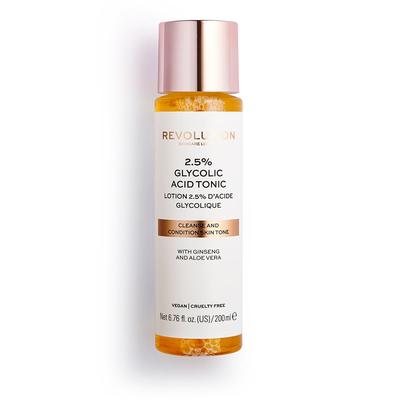 Tonik za lice sa glikolnom kiselinom REVOLUTION SKINCARE 2.5% Glycolic Acid 200ml