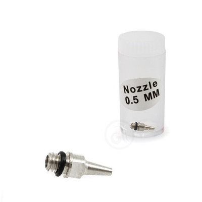 Nozzle for Air Brush Gun 0.5 mm Threaded