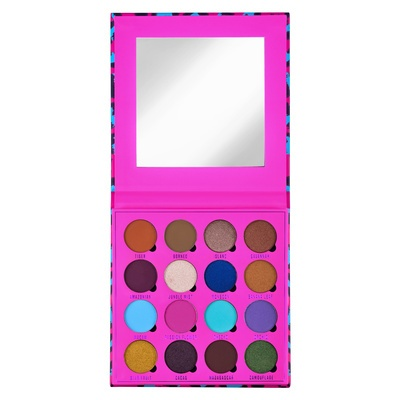 Eyeshadow and Pressed Pigment Palette MAKEUP OBSESSION In the Neon Jungle 20.8g