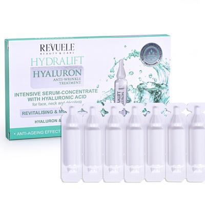 Intenzivni serum za hidrataciju kože lica REVUELE Hydralift Hyaluron 7x2ml