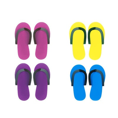 Non-slip Color Slippers for Pedicure 2/1