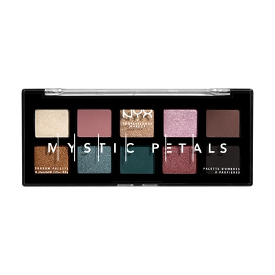 Paleta senki za oči NYX Professional Makeup Dark Mystic Petals 8g