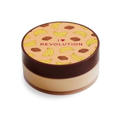 Puder u prahu za lice I HEART REVOLUTION Čokolada Banana 22g