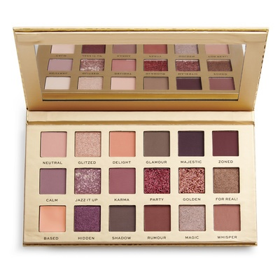 Eyeshadow and Pigment Palette REVOLUTION PRO New Neutral 13g