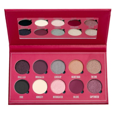 Paleta senki i pigmenata MAKEUP OBSESSION Intoxicated with Love 13g