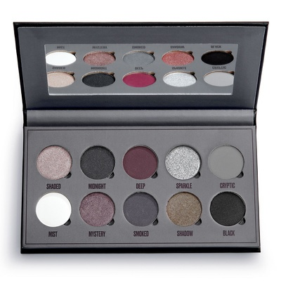 Eyeshadow and Pigment Palette MAKEUP OBSESSION Black Is The New Black 13g