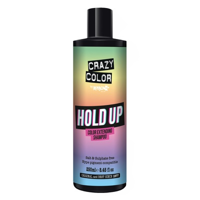 Šampon bez sulfata za produžavanje trajnosti boje CRAZY COLOR Hold Up 250ml