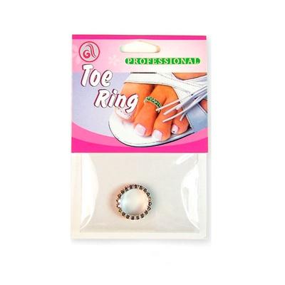 Prsten za nožni prst dvostruki DR03 Crveni