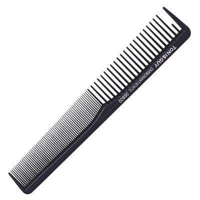 Češalj za kosu karbonski antistatički 06800 Crni