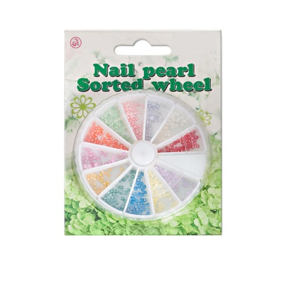 Round Pearl For Nail Art PBOX1