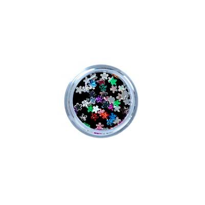 Cirkoni za Nail Art cvetovi mix CIRK