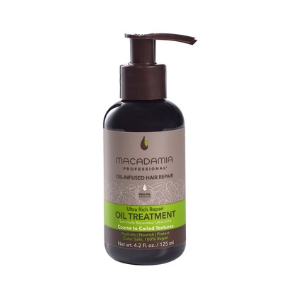 Oil-Infused Hair Treatment for Coarse to Coiled Textures MACADAMIA Ultra Rich Repair 125ml