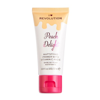 Prajmer za matiranje lica I HEART REVOLUTION Peach Delight 27ml