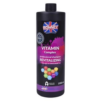 Šampon za revitalizaciju tanke i lomljive kose RONNEY Vitamin Complex 1000ml
