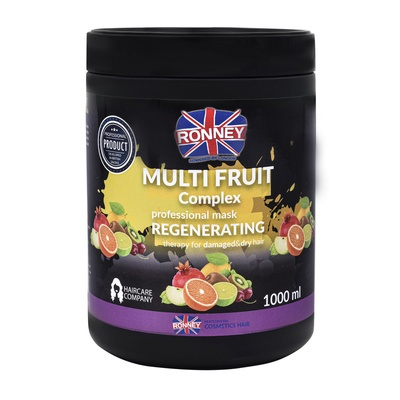 Regenerating Mask for Damaged and Dry Hair RONNEY Multi Fruit Complex 1000ml
