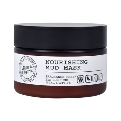 Nourishing Mud Mask REVUELE Vegan&Organic 100ml