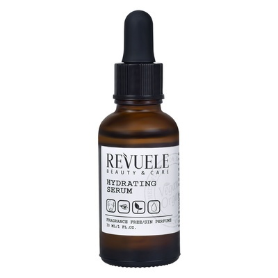 Hydrating Serum REVUELE Vegan&Organic 30ml