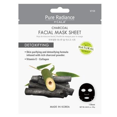 Korejska sheet maska za detoksikaciju kože lice sa aktivnim ugljem CALA Charcoal Detoxifying 67120 20g