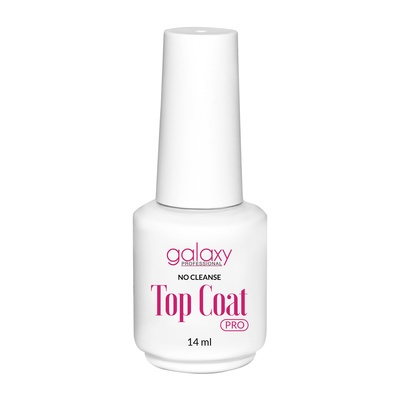 Top Coat No Cleanse UV/LED Galaxy Pro 14 ml