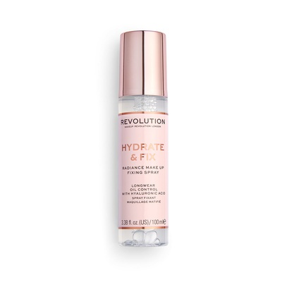 Radiance Fixing Spray REVOLUTION MAKEUP Hydrate & Fix 100ml