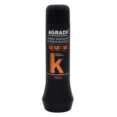 Balzam za neposlušnu kosu AGRADO Keratin 750ml