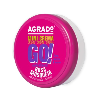 Moisturising Cream AGRADO Go! Rosehip 50ml