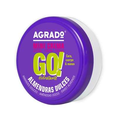 Moisturising Cream AGRADO Go! Sweet Almond 50ml