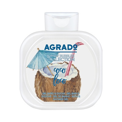 Bath and Shower Gel AGRADO Coco Loco 750ml