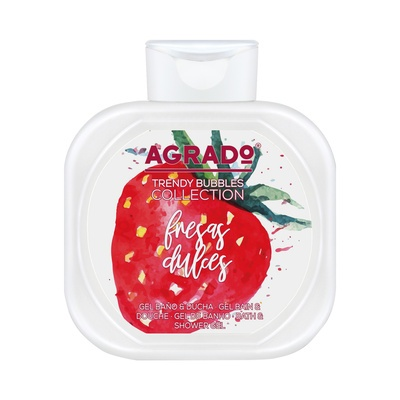 Bath and Shower Gel AGRADO Fresas Dulces 750ml