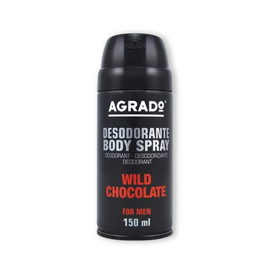 Dezodorans For Men AGRADO Wild Chocolate 150ml