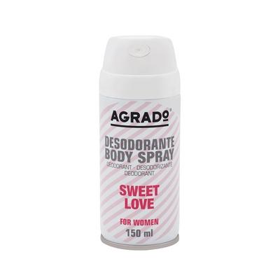Ženski dezodorans u spreju AGRADO Sweet Love 150ml