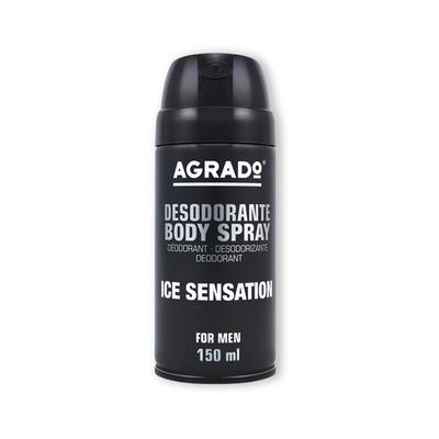 Deodorant For Men AGRADO Ice Sensation 150ml
