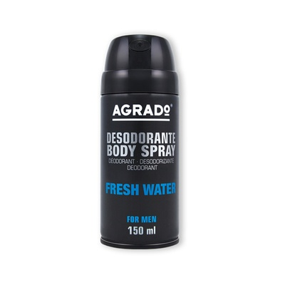 Muški dezodorans u spreju AGRADO Fresh Water 150ml