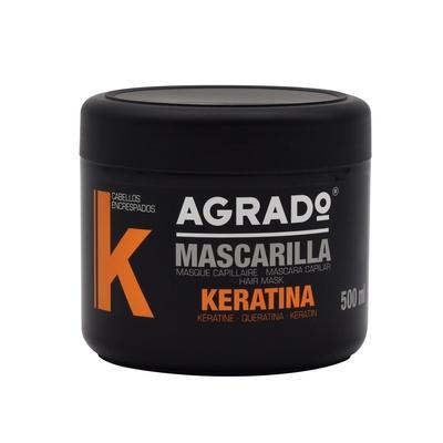 Maska za neposlušnu kosu AGRADO Keratin 500ml