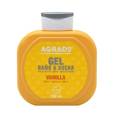 Bath and Shower Gel AGRADO Vanilla 750ml