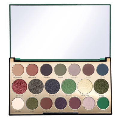 Eyeshadow and Pigment Palette REVOLUTION MAKEUP Precious Stone Emerald 16.9g