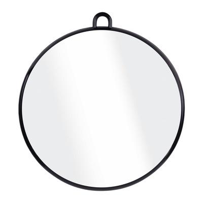 Cabinet Hand Mirror Round N24B Black