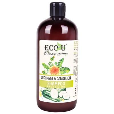 Šampon za masnu kosu ECO U Krastavac i maslačak 500ml