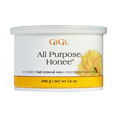 All Purpose Wax in Tin Can GIGI Honey 396g