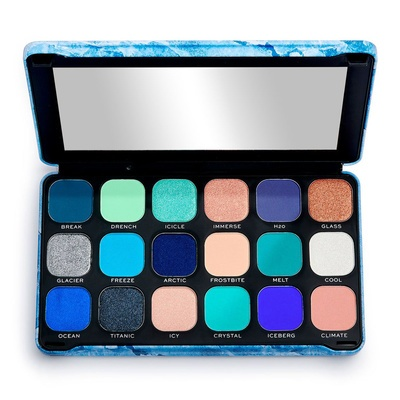 Eyeshadow & Face Pigment Palette MAKEUP REVOLUTION Forever Flawless Ice 19.8g