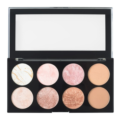 Ultra Blush Palette MAKEUP REVOLUTION Golden Sugar 13g