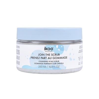Cleansing Scalp Scrub IKOO Sea Salt 250ml