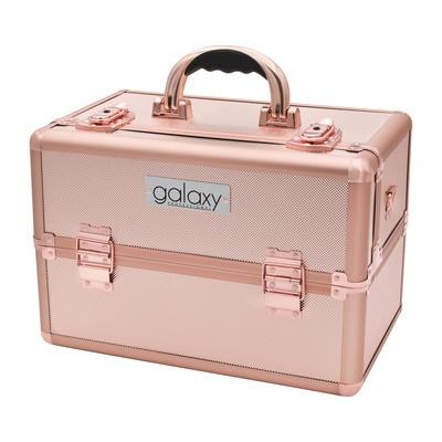 Makeup, Cosmetics and Tool Case GALAXY Rose Gold Diamond TC-3149