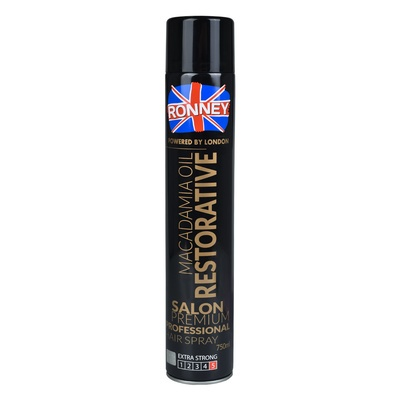 Hair Spray Extra Strong RONNEY Macadamia Oil 750ml