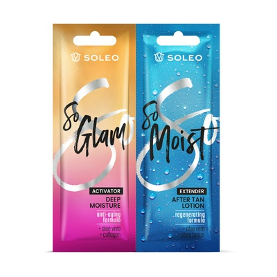 Deep Moisture Tanning Accelerator SOLEO So Glam 15ml