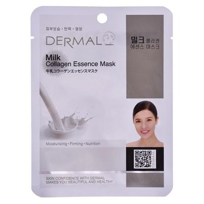 Korejska sheet maska za zatezanje kože lica DERMAL Collagen Essence Milk 23g