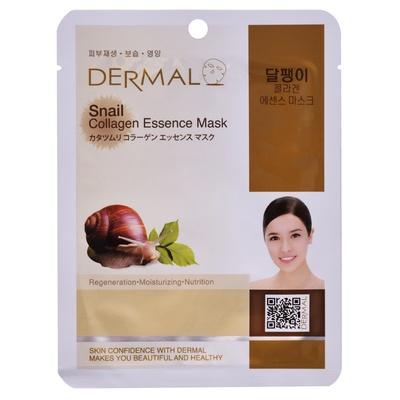 Korejska sheet maska za regeneraciju kože lica DERMAL Collagen Essence Snail 23g